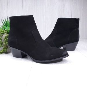 Steve Madden Creek Suede Ankle Boots Women's 9.5